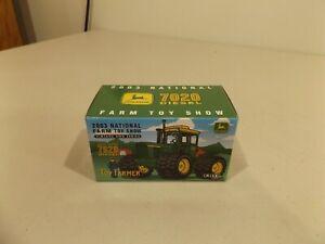 1/64  JOHN  DEERE  7020  4WD  TOY  FARMER  2003,