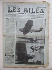AILES 1934 681 FARMAN 221 VULTEE V-1A SAHARA NIGER TCHAD TOUR ALLEMAGNE HENDON