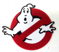 "GHOSTBUSTERS No Ghost Logo Screen Accurate 4"" Wide  Deluxe Costume/Uniform Patch"