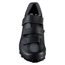 New Shimano ME2 Men's XC Trail Off Road Bike Shoes - Black / White - Size 43