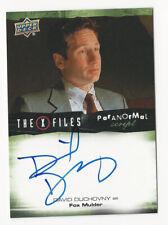 David Duchovny as Fox The X Files Ufos & Aliens Paranormal Script Autograph Card