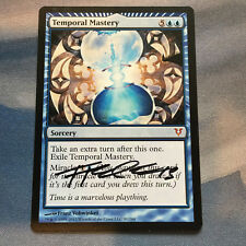1x SIGNED Temporal Mastery NM ~ Avacyn Restored Miracle Blue Legacy Magic MTG x1