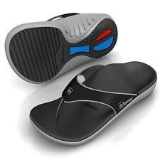 Spenco Yumi Men's Sandals Carbon/Pewter Size 9 - Support Stability & Comfort