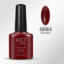 CCO UV LED Nail GEL Polish Varnish Soak off Professional Full Range 150 Colours Royal Red
