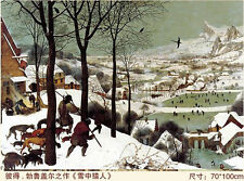 Jigsaw Puzzle Hunters in the Snow Pieter Bruegel World Famous Paintings 2000 PCS