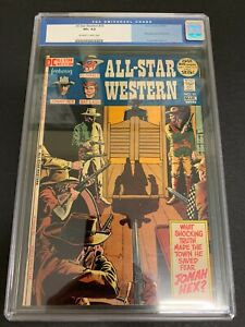 ALL-STAR WESTERN #10 * CGC 8.5 * (DC, 1972)  1ST JONAH HEX!!  MUST-SEE!!