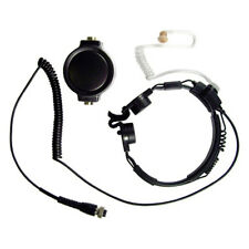 Pryme Gladiator SPM-1501 Throat Mic for Kenwood 2-Pin Side Connector Radios