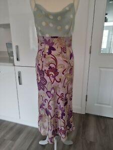 Nougat Silk Dress