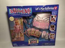Amazing Ally - Let's Play Ballerina Play Set - 2000 - Nib New