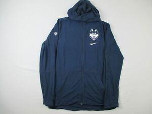 UConn Huskies Nike Jacket Men's Blue Dri-Fit Used Multiple Sizes
