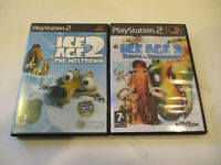 Ice Age 2 & IceAge 3 For Ps2  Very Good Condtion  with No Manual Free Shipping