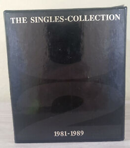 U2: The Singles Collection 1981-1989 Box set #6757