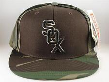 MLB Chicago White Sox Vintage Trucker Snapback Hat Cap American Needle Camo