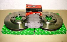 JAGUAR  S TYPE FRONT BRAKE  DISCS AND PADS SET JLM20801+ XR813324