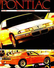 1989 PONTIAC LARGE DELUXE BROCHURE -TRANS AM GTA NOTCHBACK-FIREBIRD-FORMULA