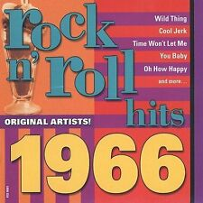 Rock N' Roll Hits: Golden 1966 by Various Artists (CD, May-2002, Madacy)
