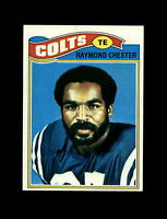 1977 Topps Football #351 Raymond Chester (Colts) NM-MT
