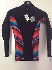 Rip Curl Women's Wetsuit G-Bomb 1mm Long Sleeve Front Zip Jacket Size 10