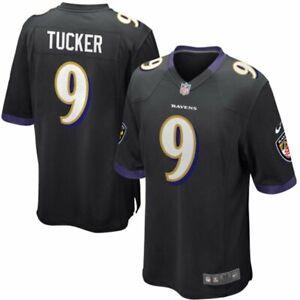 Justin Tucker Baltimore Ravens Nike Youth Game Jersey - Black