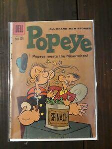 Dell Comics: Popeye #55 - Silver Age 1961