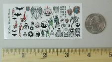 1/18 Scale Custom Tattoos: Star Wars Batman Variety Pack - Waterslide Decals