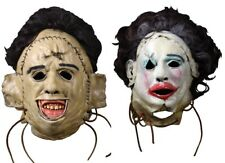 The Texas Chainsaw Massacre Leatherface 1974 Killing & Pretty Woman Latex Masks