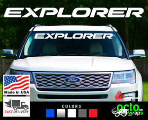 fits ford Explorer st sport trac police accessories windshield decal sticker top