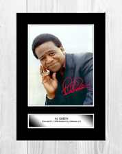 More details for al green 1 a4 reproduction autograph photograph picture poster choice of frame