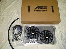 F-150 Raptor AFCO dual pass heat exchanger / intercooler with dual fan kit