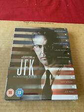 OLIVER STONE'S JFK (1991) UK Blu Ray STEELBOOK