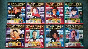 Star Trek the Magazine -  all 8 issues from the premiere year in 1999