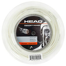 HEAD Perfect Power 1.20mm 110m 17Gauges 360ft Squash String White Multifilament