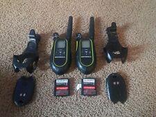 Lot of 2 Motorola SX700 Talkabout 2 Way Radio Walkie Talkies Tested Working