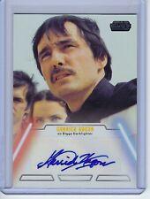 2013 Star Wars Jedi Legacy Garrick Hagon as Biggs Darklighter Autograph Auto