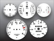 1974-1977 Porsche 911 911S 150 Mph Dash Instrument Cluster White Face Gauges
