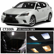 White Interior LED Lights Package for 2011-2014 Lexus CT200h F