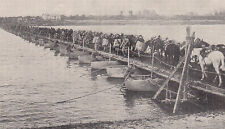 Prima guerra mondiale - 1914-1918 - militare tedesco-Ponton Ponte Persica