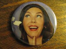 Progressive Insurance Pin - Spokesmodel Flo RePurposed Advertisement Button Pin