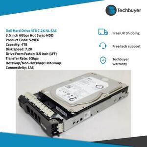 Dell Hard Drive 4TB 7.2K NL SAS 3.5 inch 6Gbps Hot Swap HDD - 529FG