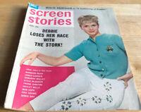 1963 AUGUST SCREEN STORIES MAGAZINE - DEBBIE REYNOLDS COVER