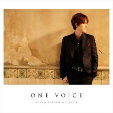 SUPER JUNIOR-KYUHYUN Japan 1st Album [ONE VOICE] CD + DVD + Photocard