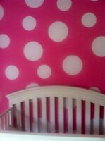 Vinyl Polka Dot Vinyl Stickers Minnie Mouse Theme Wall Decals Wall Stickers
