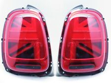 LED Tail Lights For 2014-2018 Mini Cooper F56 UK UNION JACK LCI RED Lens