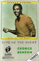 George Benson.. Give Me The Night .Import Cassette Tape