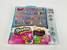 Shopkins Season 4 Blue Glitzi Collector's Case - 8 Exclusive Shopkins ! NEW!