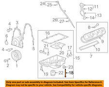 Cadillac GM OEM 09-15 CTS 6.2L-V8 Engine-Oil Pan Bolt 12554990
