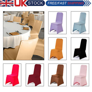 Chair Covers for Dining Room Party Wedding Banquet Stretch Fit Removable wedding