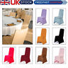 Spandex Dining Room Chair Covers Slip Seat Cover Stretch Removable Wedding White
