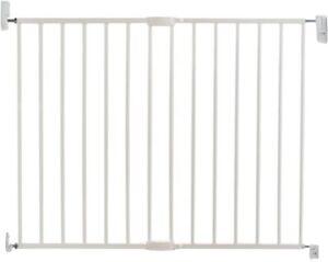 Lindam Wall Fix Extending Metal Safety Gate (Push to Shut/Easy Close) 64.5-102cm