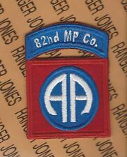 US Army 82nd MP Co Military Police 82nd AIRBORNE Division patch